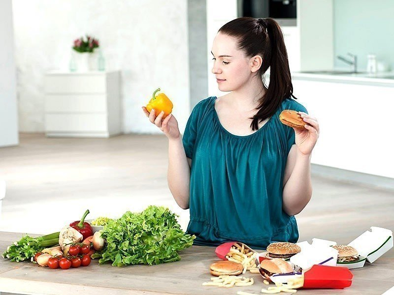 Немного информации о диете и похудении